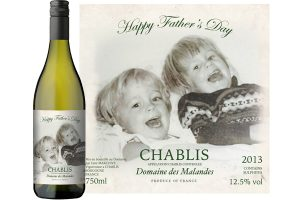 Father's Day Personalised Wine